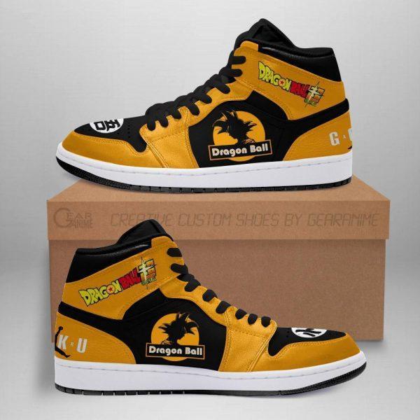 goku air jordan sneakers dragon ball super anime custom shoes - DBZ Shop