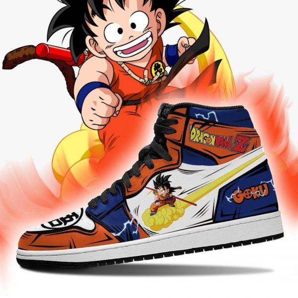 goku chico shoes boots dragon ball z anime jordan sneakers fan gift mn04 gearanime - DBZ Shop