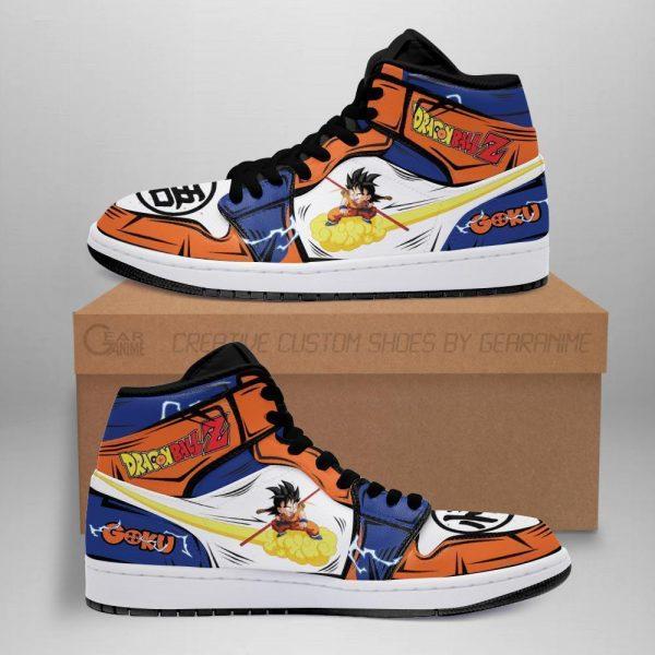 goku chico shoes boots dragon ball z anime jordan sneakers fan gift mn04 - DBZ Shop
