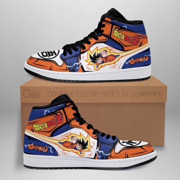 goku jordan sneakers boots custom dragon ball z anime sneakers costume gearanime - DBZ Shop