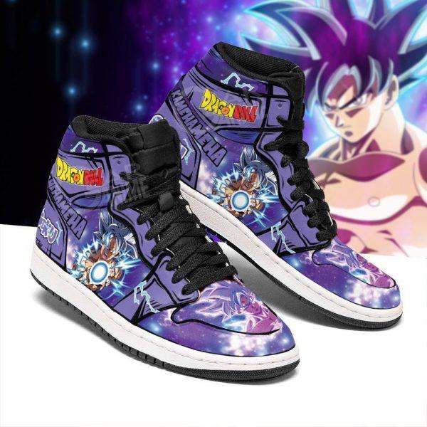 goku ultra instinct jordan sneakers dragon ball anime shoes fan mn05 gearanime - DBZ Shop