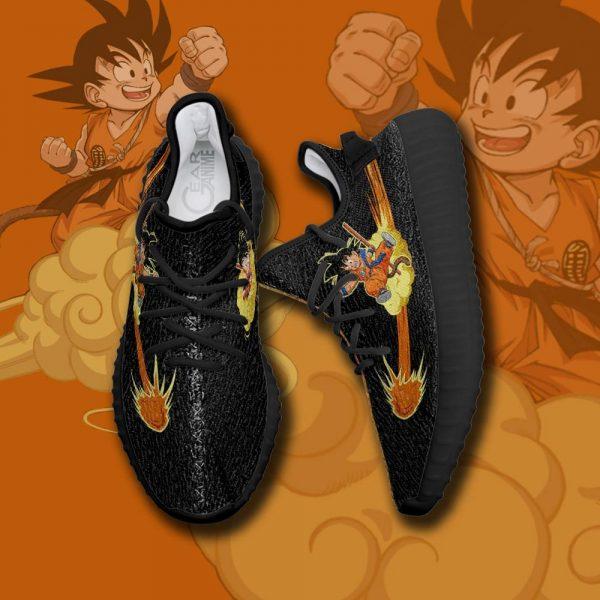 kid goku chico yeezy shoes dragon ball anime custom shoes tt10 gearanime - DBZ Shop