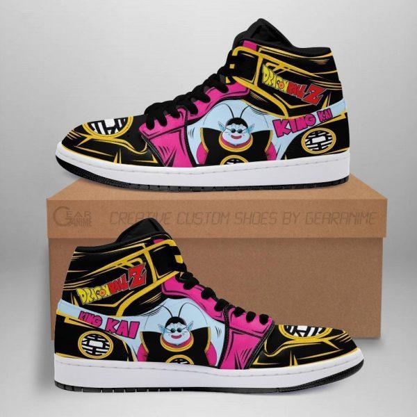 king kai jordan sneakers dragon ball anime shoes fan gift idea mn05 - DBZ Shop