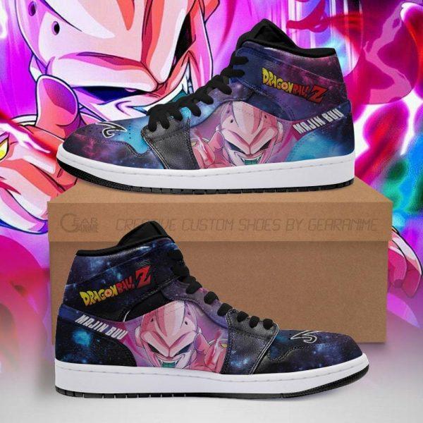 majin buu jordan sneakers galaxy dragon ball z anime shoes fan pt04 - DBZ Shop