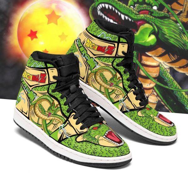 shenron shoes boots dragon ball z anime jordan sneakers fan gift mn04 gearanime - DBZ Shop