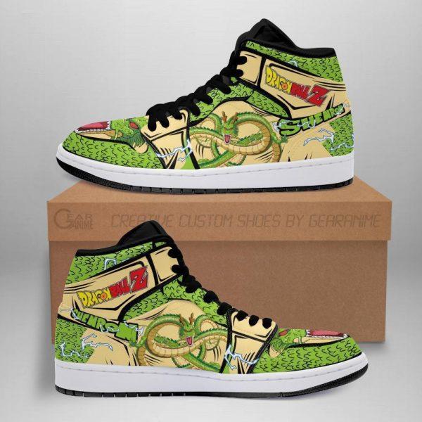 shenron shoes boots dragon ball z anime jordan sneakers fan gift mn04 - DBZ Shop