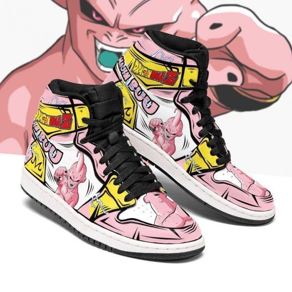 skinny majin buu shoes boots dragon ball z anime jordan sneakers fan gift mn04 gearanime - DBZ Shop