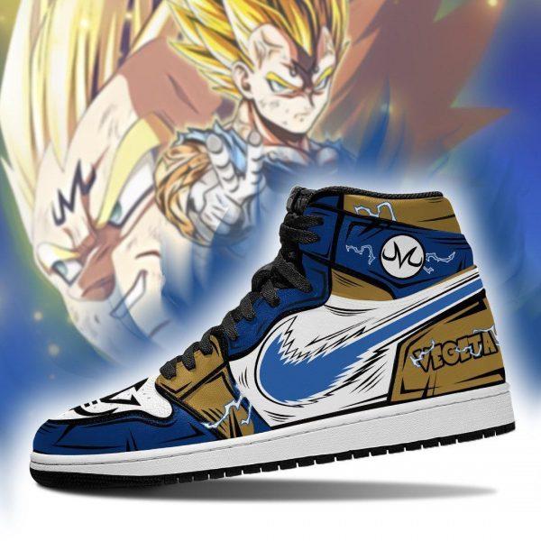 vegeta shoes boots dragon ball z anime jordan sneakers fan gift mn04 gearanime - DBZ Shop